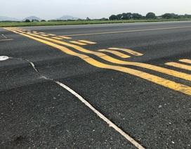 Thủ tướng yêu cầu báo cáo hư hỏng đường băng sân bay Nội Bài