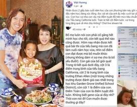 """Việt Hương khoe thành tích học tập """"khủng"""" của con gái tại Mỹ"""