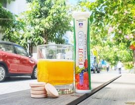 TPBVSK Frujt Slim: Đánh dấu thành công ứng dụng viên sủi hỗ trợ giảm cân có chiết xuất Chitosan  trong vỏ Cua Cà Mau đầu tiên tại Việt Nam