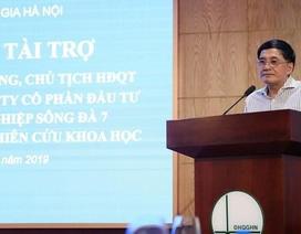 """Hai sếp """"Sông Đà 7"""": Người cổ phiếu hoá hơi, người dính phốt mạng xã hội"""