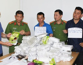 Điện Biên: Bắt vụ vận chuyển 50kg ma túy đá