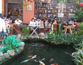 Đà Nẵng: Quán cà phê nhộn nhịp ngày lễ