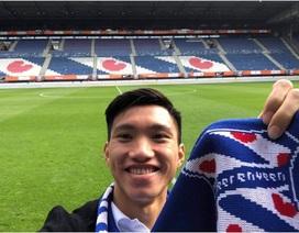 Văn Hậu tươi tắn, chuẩn bị ký hợp đồng với Heerenveen