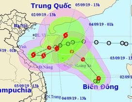 Hai áp thấp nhiệt đới trên Biển Đông sẽ nhập vào nhau
