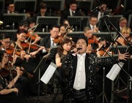 """Tùng Dương """"bùng nổ"""" với bản rock của Trần Lập ở Hoà nhạc ngày 2/9"""