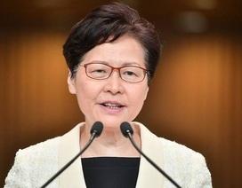 Lãnh đạo Hong Kong bác tin định từ chức