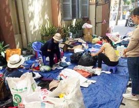 Chợ ở Sài Gòn, khách đến chỉ việc lấy đồ, không cần trả tiền