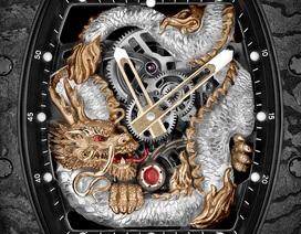 RM 57-03 Tourbillon Sapphire Dragon – Sự dung hòa giữa nghệ thuật chạm khắc với chất liệu tiên phong