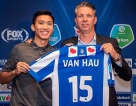 """SC Heerenveen """"lãi lớn"""" trên fanpage khi ký hợp đồng với Văn Hậu"""