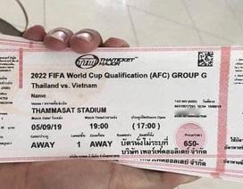 """Vé """"chợ đen"""" trận đội tuyển Việt Nam đấu Thái Lan cao gấp 8 lần giá gốc"""