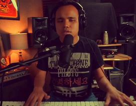 Cảm động trước tiếng hát của chàng trai khiếm thị - tự kỷ