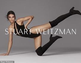 Kendall Jenner khoe chân siêu dài