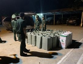 Thu giữ gần 2000 chai rượu ngoại nhập lậu