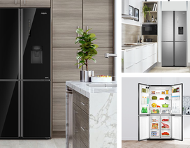 Tủ lạnh 4 cửa mới từ Aqua – Làm đẹp gian bếp nhà