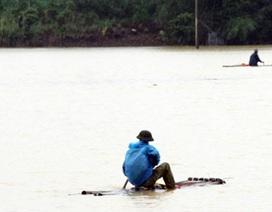 Liều mình đánh cá giữa mưa lũ, 2 người đàn ông chết đuối
