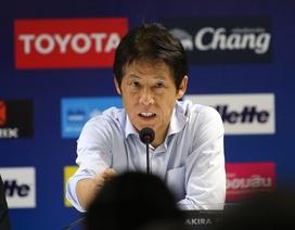 """HLV Akira Nishino: """"Tôi xấu hổ khi tuyển Thái Lan chỉ hòa Việt Nam"""""""