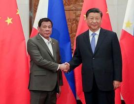 """Ông Duterte kể chi tiết cuộc trao đổi """"khó khăn"""" với ông Tập Cận Bình về Biển Đông"""