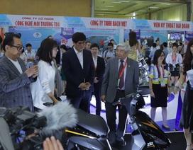 Giới thiệu xe máy điện thông minh kết nối với smartphone tại triển lãm VCCA 2019