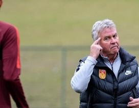 HLV Guus Hiddink muốn giành chiến thắng trước U22 Việt Nam