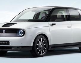 Những hình ảnh chính thức đầu tiên của xe chạy điện Honda e