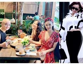 Ở tuổi 34, Lã Thanh Huyền ngày càng sang chảnh bên hội bạn thân