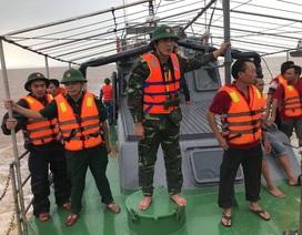 Vụ chìm tàu cá khiến nhiều người mất tích: 4 ngư dân được cứu sống