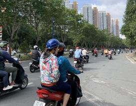 """""""Choáng váng"""" vì mùi hôi thối trên đại lộ Mai Chí Thọ, nghi do... phân bò"""