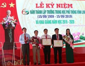 Quảng Trị: Ngôi trường 60 năm tuổi khai giảng năm học mới