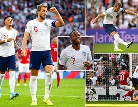 Harry Kane lập hat-trick, tuyển Anh giữ vững thành tích toàn thắng