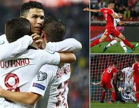 Serbia 2-4 Bồ Đào Nha: C.Ronaldo tỏa sáng