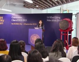 ĐH Fulbright Việt Nam khai giảng và những thông điệp ý nghĩa cho người trẻ