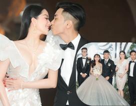 Vợ chồng Khánh Thi tình tứ dự đám cưới con gái đại gia Minh Nhựa