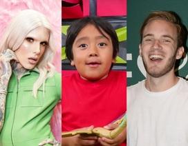 Há hốc mồm trước thu nhập 2 tỉ đồng mỗi phút của các YouTuber nổi tiếng