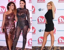 Người đẹp Anh bốc lửa dự lễ trao giải truyền hình 2019