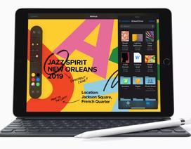 """iPad 10.2-inch thế hệ mới có màn hình Retina, """"mạnh gấp đôi PC"""", giá chưa đến 8 triệu đồng"""