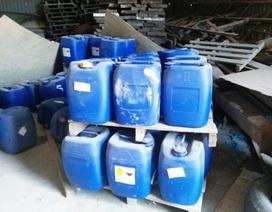 Phát hiện 2 kho hóa chất dùng chế ma túy do người Trung Quốc cầm đầu tại Bình Định