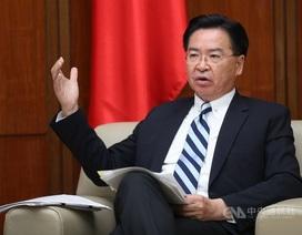 Đài Loan cảnh báo tham vọng kiểm soát Biển Đông của Trung Quốc