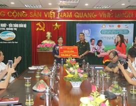Quảng Trị: Hơn 400 suất học bổng dành cho học sinh nghèo miền núi, xã bãi ngang