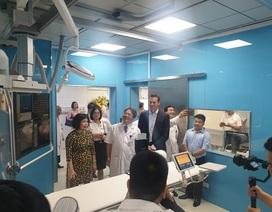 Philips chuyển giao công nghệ chụp mạch hiện đại tại Bệnh viện Việt Đức