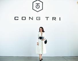 Doanh nhân Mỹ Cảnh tự hào mang trang sức ngọc trai đến New York Fashion Week