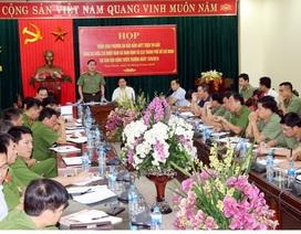 Huy động gần 400 chiến sĩ bảo đảm an ninh sân Thiên Trường