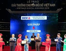 BIDV - Doanh nghiệp chuyển đổi số xuất sắc