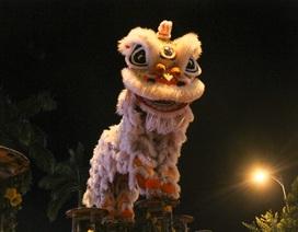 Phố phường Đà Nẵng rộn ràng trống lân mùa Tết Trung thu