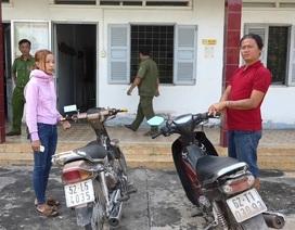 Nhóm đối tượng nhiều tiền án liên tiếp trộm xe máy