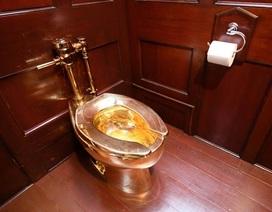 Bệ xí…bằng vàng trị giá hơn 29 tỷ đồng ở Cung điện Blenheim (Anh) bị đánh cắp