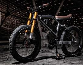 Soi chi tiết chiếc xe đạp điện cá tính, linh hoạt bậc nhất Le Cafe Racer