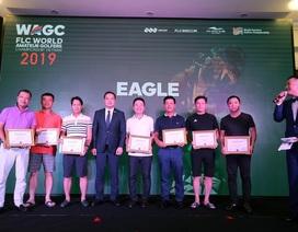 """""""Mưa Eagle"""" tại vòng loại phía bắc FLC WAGC Vietnam 2019"""