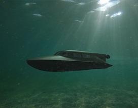 """Hải quân Anh thử nghiệm tàu ngầm của """"điệp viên 007"""""""