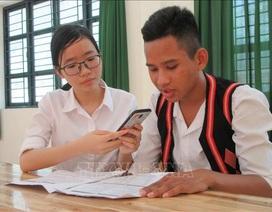 Học sinh miền núiNinh Thuận sáng chế phần mềm học tiếng Raglai trên điện thoại