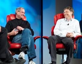 """Tỷ phú Bill Gates tiết lộ điều mà ông luôn """"ghen tỵ"""" với Steve Jobs"""